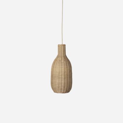 BRAIDED BOTTLE LAMP | The Room Living