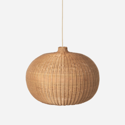 BRAIDED BELLY LAMP | The Room Living