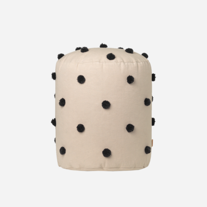 DOT TUFTED POUF | The Room Living
