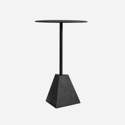 KNOCK OUT LOUNGE TABLE SQUARE PYRAMID | The Room Living