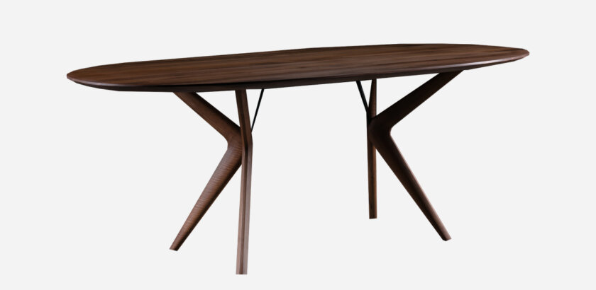 LAKRI OVAL TABLE | The Room Living