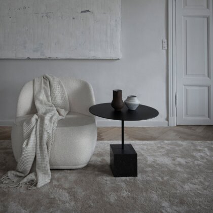 KNOCK OUT LOUNGE TABLE SQUARE HIGH | The Room Living
