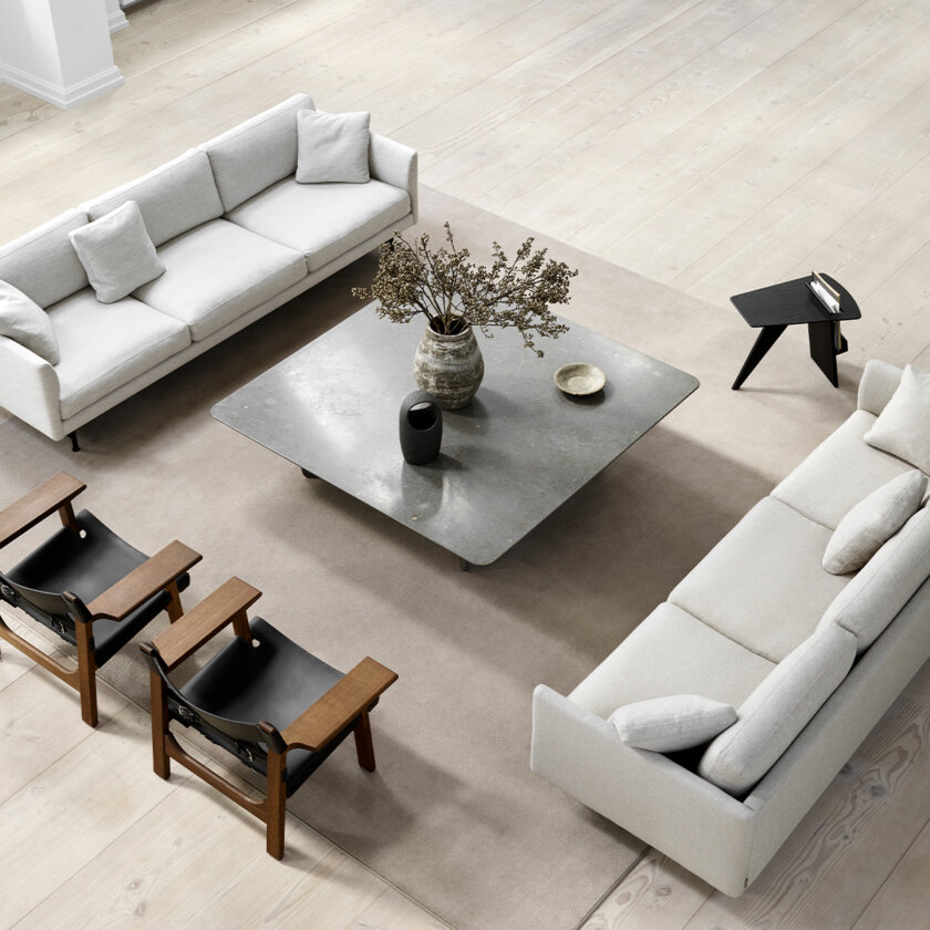 TABLEAU COFFEE TABLE RECTANGULAR   The Room Living