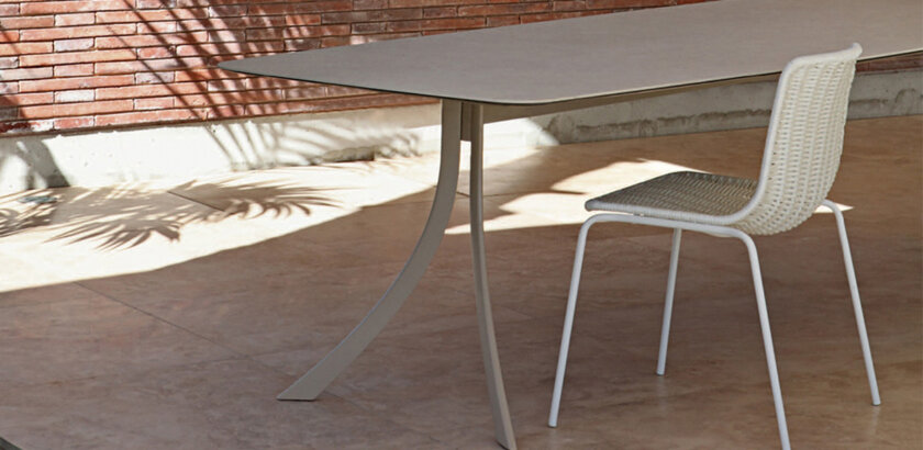 MESA RECTANGULAR FALCATA | The Room Living