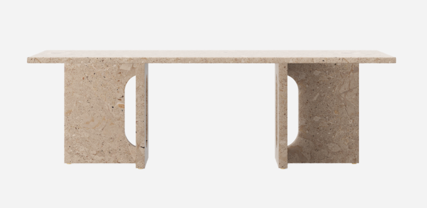 ANDROGYNE LOUNGE TABLE, KUNIS BRECCIA   The Room Living