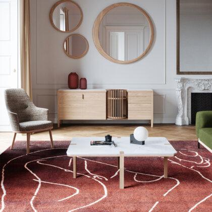 CORNER CENTER TABLE | The Room Living