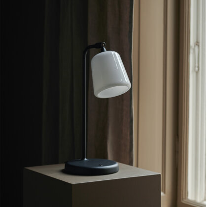 MATERIAL TABLE LAMP   The Room Living
