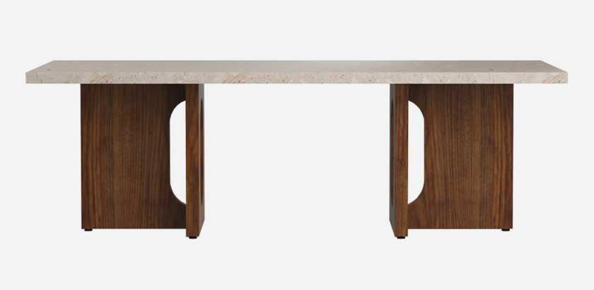 ANDROGYNE LOUNGE TABLE, WOOD | The Room Living