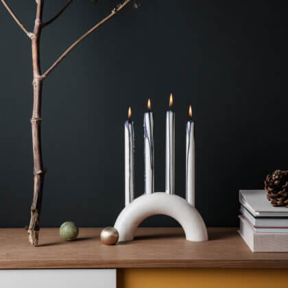 BOW CANDLE HOLDER | The Room Living