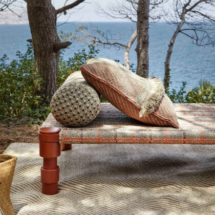 SINGLE INDIAN BED TERRACOTTA | The Room Living