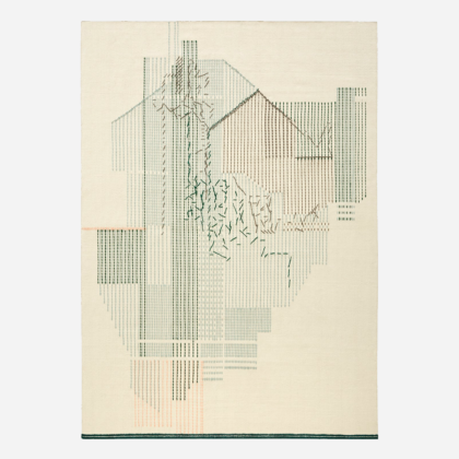 BACKSTITCH COMPOSITION GREEN | The Room Living