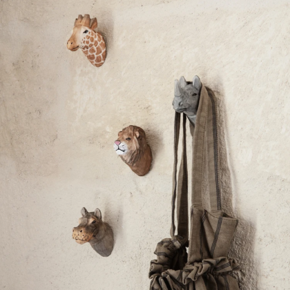 Animal Hand-Carved Hook | The Room Living
