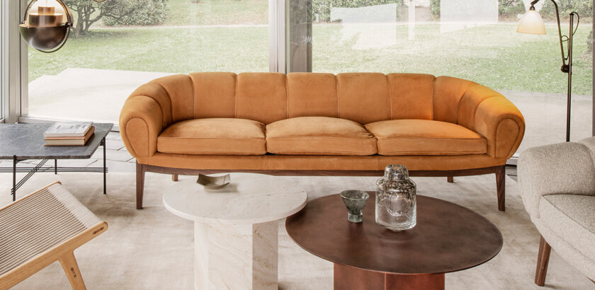 CROISSANT SOFA 3-SEATERS | The Room Living