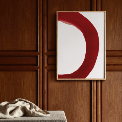 Ensō – Red II | The Room Living