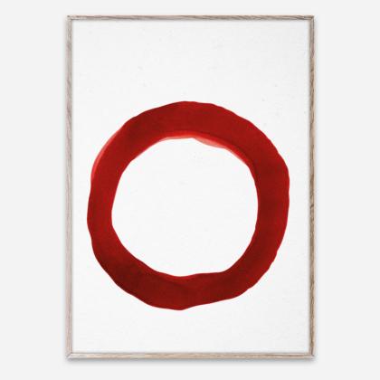 Ensō – Red IV | The Room Living