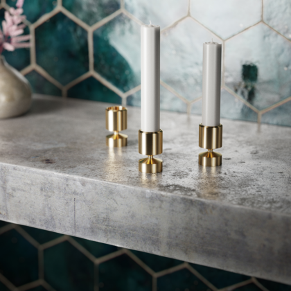 MANCHET – CANDLE HOLDER   The Room Living