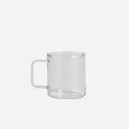 GLASS COFFEE MUG (set of 4)   The Room Living